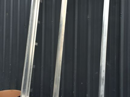 One piece welded faceted window flashings alloy