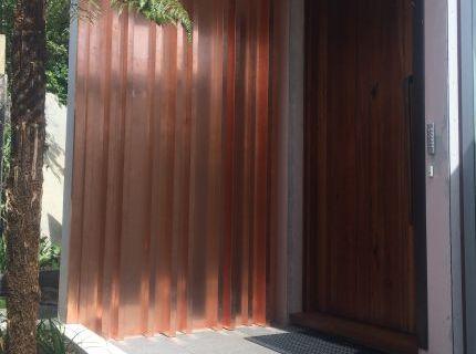 Copper Art Wall